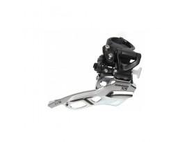 SRAM Dérailleur AV X5 3X10V Fix Collier Haut 31.8/34.9 tirage haut Noir