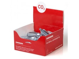 SRAM Cartouches CO2 à visser Sram, Argent, Boite de 20