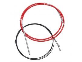 SRAM KIT Câble Frein Extra Long SRAM Slickwire Pro Route 5mm Noir
