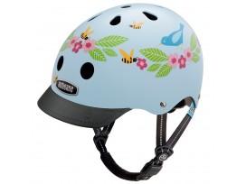 Casque de vélo Nutcase Little Nutty - Oiseaux bleus & Abeilles-