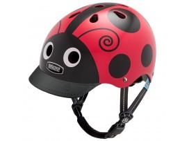 Casque de vélo Nutcase Little Nutty - Coccinelle