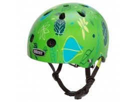 Casque de vélo Nutcase Baby Nutty - Vert avec motifs