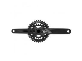 SRAM GX Pédalier 1000 Fat Bike GXP 100mm Noir 10 Vit 34/22 BB n/inclus