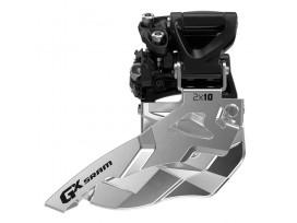 SRAM Dérailleur AV GX 2x10V Fix Collier Haut tirage haut