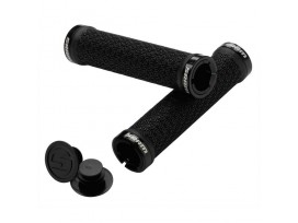 SRAM Locking Grips with Double Clamps & End Plugs