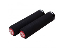 SRAM Locking Grips Mousse 129mm with Single Black Clamp and End Plug