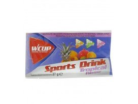 Wcup Sports drink, Tropical (30g) Pack de 24