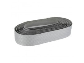 GPA CYCLE Ruban de Cintre Carbon Ribbon PVC Expansé, Argent