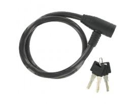GPA CYCLE Antivol à clés plates haute sécurité 12 mm x 80 cm