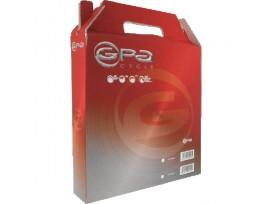 GPA CYCLE Gaine frein 5 mm, rouleau de 30 mètres, noir.