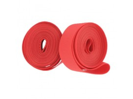 "GPA CYCLE Fonds de jante double layer PVC/Nylon 700/23"" Rouge"