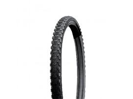 GPA CYCLE Pneu VTT 26 X 1.90 Terrain sec Noir-Noir