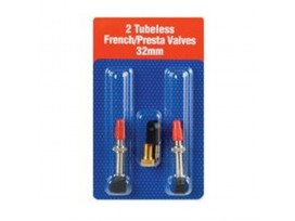 JOES NOFLAT Valves 2 TUBELESS FRENCH/PRESTA 32 mm