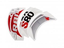 SRAM Stickers pour 1 Roue S80 Gris