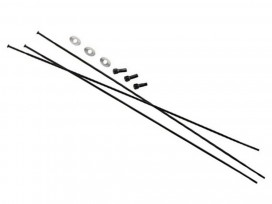 "SRAM Rayons et Têtes 3pack 268mm CX-Sprint StraiPull Ext Noir Roam 60 26"""