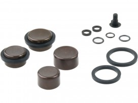 SRAM Calip Piston Kit 2-16mm&2-14mm Alu calip pist, seals&O-rings G. Ult