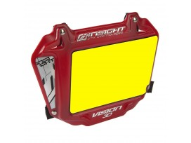 Plaque INSIGHT vision 3D expert fond jaune