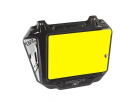 Plaque INSIGHT vision 3D pro fond jaune