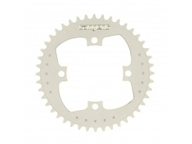 Couronne TANGENT 104mm blanc