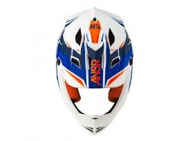 Casque ANSR faze bleu/orange