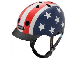Casque de vélo Nutcase Little Nutty - Stars & Stripes