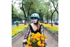 Casque de vélo Nutcase Street - Tête de mort