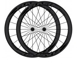 More about FLASH roues AR carbone boyaux T38 Black line - Noir