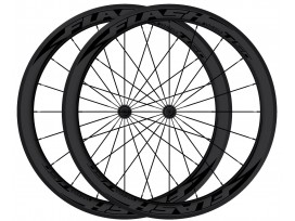 More about FLASH roue Arrière carbone boyaux T38 Black line - Noir
