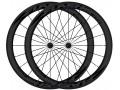 FLASH roues AR carbone boyaux T38 Black line - Noir