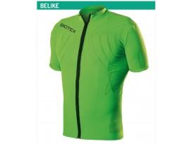 BIOTEX Maillot manches courtes avec zip devant Belike