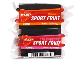 Wcup Sports Fruit mix Fraise/Orange 3 x25g Pack de 24