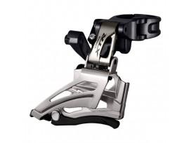 Dérailleur Avant Double Shimano Gris FD-M9025 XTR Colier Haut Tirage Bas