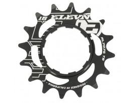 Pignon ELEVN aluminum noir