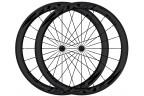 FLASH Paire de roues carbone boyaux T50 - Noir