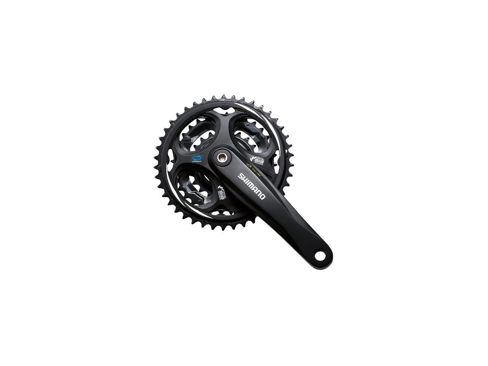 Shimano Altus FC-M311 48//38//28 noir 2018 pedalier bmx Manivelle