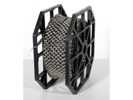 Rouleau de Chaîne KMC X10 Silver/Black + 40 CL559R, Rl 50mts 10 vitesses
