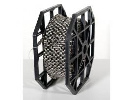 Rouleau de Chaîne KMC X11 Silver/Black+40 CL555 1/2X11/128, Rl 50Mts 11 vitesses