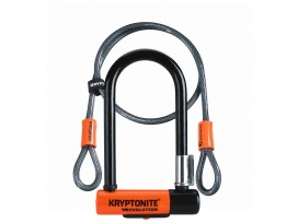 Antivol U Kryptonite Evolution Mini7 + Cable 8.3cmx17.8cm. Cable 120cm Sécurité 7/10
