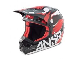 Casque ANSR Evolve 2 noir/rouge - 2015