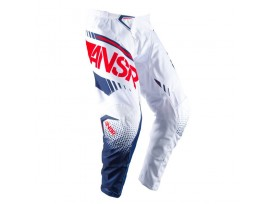 Pantalon ANSR Syncron blanc/rouge enfant - 2017
