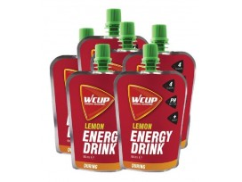 Wcup Energy drink, Citron 80 ml (5+1 gratuit)