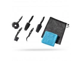PRO Kit Nettoyage 5 Brosses 1 chiffon