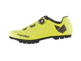 Chaussures WHISPER MTB OVAL YELLOW CATLIKE