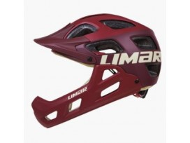 Casque Alpe Matt Dark Red Uni Limar