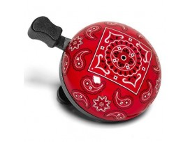 Sonnette de vélo Nutcase - Cardboard -Bandana rouge