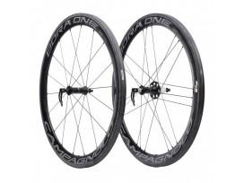 More about CAMPAGNOLO Paire de roues BORA ONE 50 DARK pneus AVANT+ARRIERE + patins de frein
