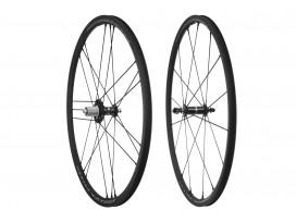 CAMPAGNOLO Paire de roues SHAMAL MILLE C17 BLACK pneus