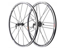 CAMPAGNOLO Paire de roues EURUS black pneus AVANT+ARRIERE -