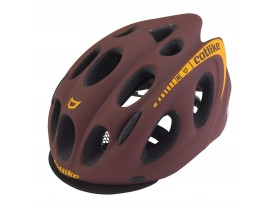 Casque CATLIKE Kompact O URBAN marron orange mat