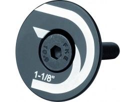 Capuchon plat de jeu de direction pour 1 1/8 avec vis M6x35mm